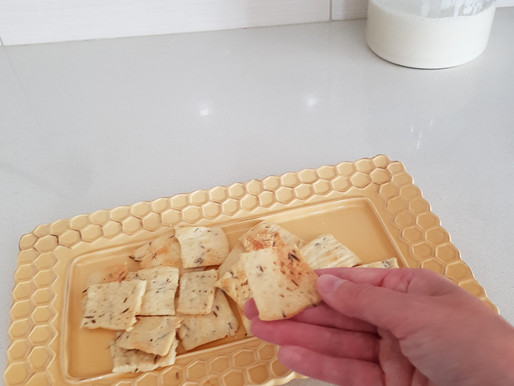 Sourdough Crackers For Morning Sickness