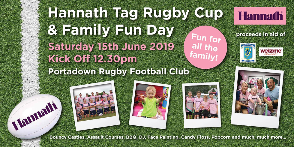 Hannath Tag Rugby Cup and Family Fun Day