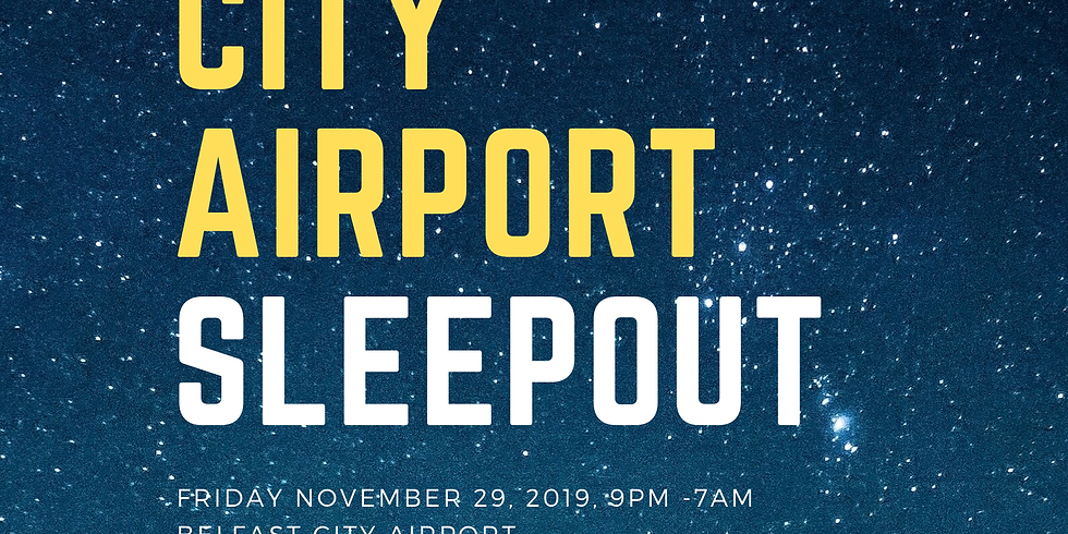 City Airport Sleepout