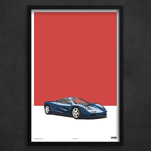1995 McLaren F1 - Maxi Print