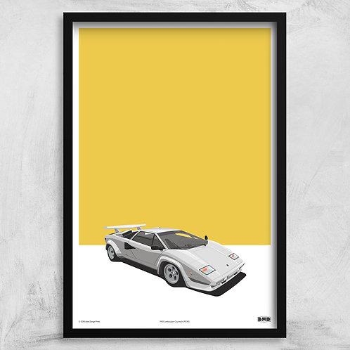 1983 Lamborghini Countach LP500S - Maxi Print