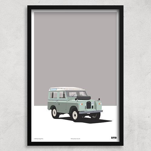 1968 Land Rover Series 2a - Maxi Print