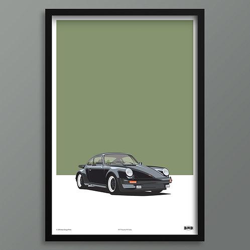 1977 Porsche 911 Turbo - Maxi Print
