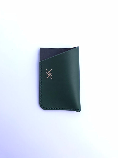 Auto Design Prints x Oak Tan - Leather Cardholder
