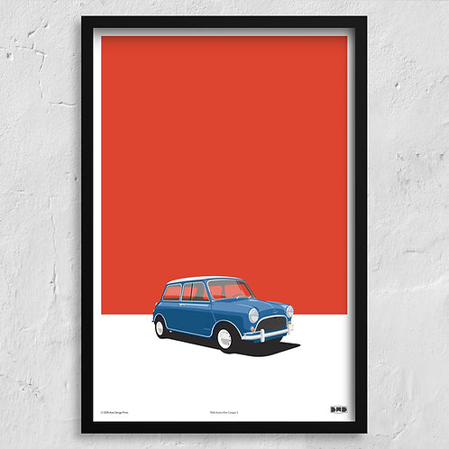 1966 Austin Mini Cooper S - Maxi Print