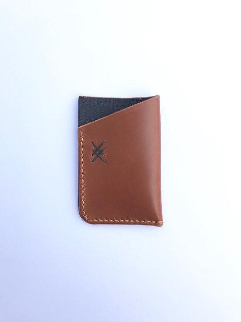 Auto Design Prints x Oak & Tan - Leather Cardholder