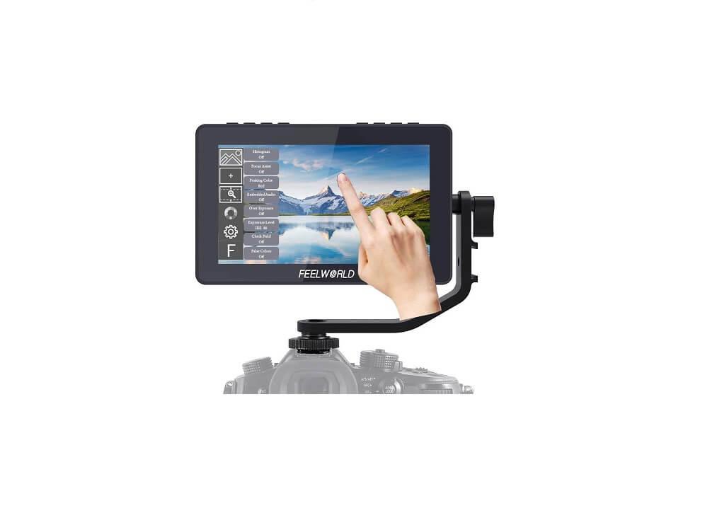 Feelworld F5 カメラ ビデオ モニター