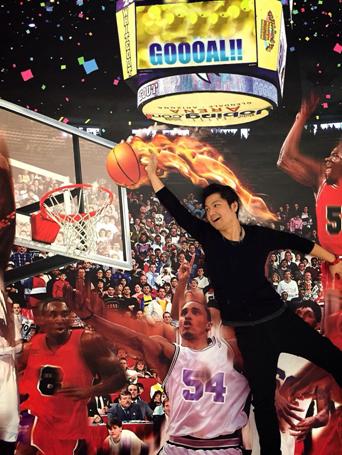 ワンダーアートミュージアム-バスケットボール