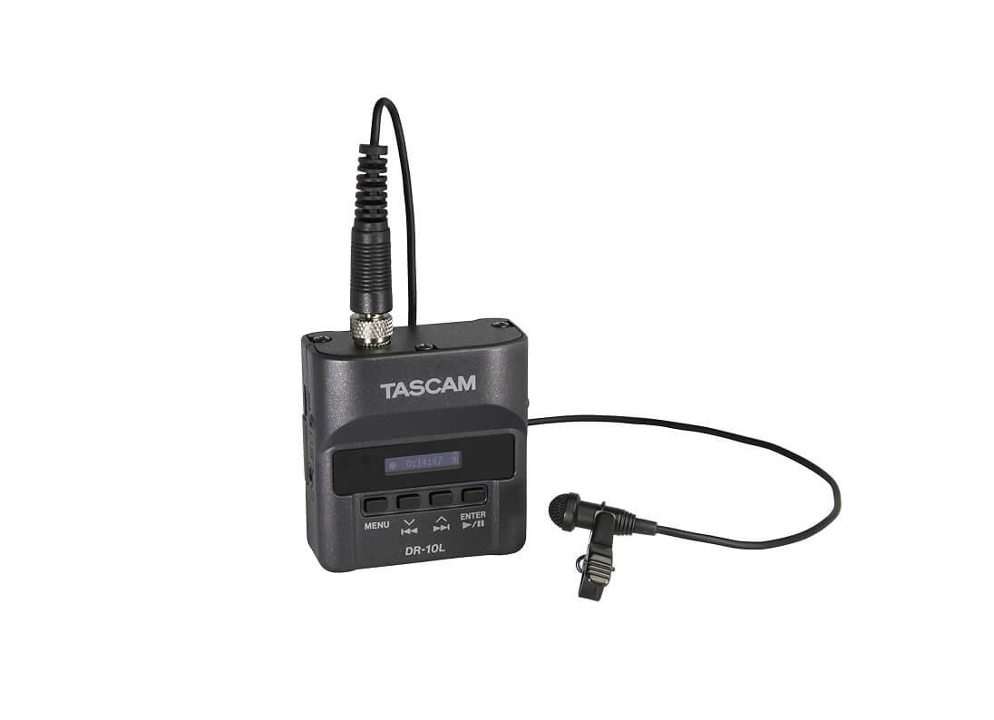 TASCAM-ピンマイクレコーダー
