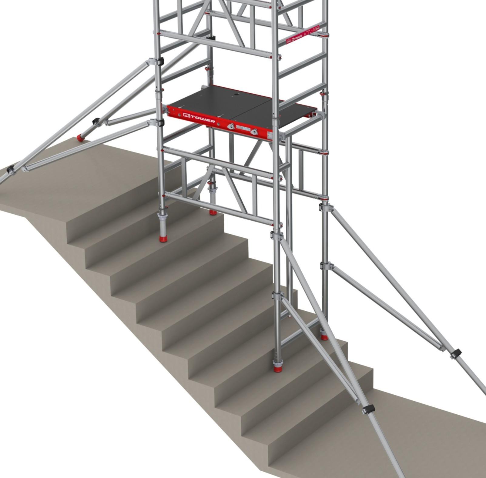 PASMA Tower on Stairs