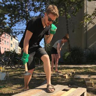 Kompostkiste bauen