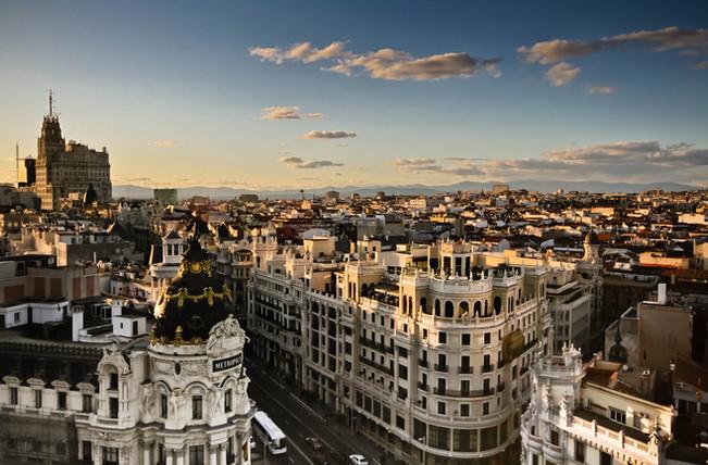 DE MADRID A ROMA VÍA PARIS