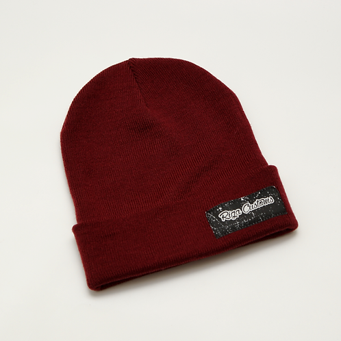 Riga Customs Winter Hat - Burgundy