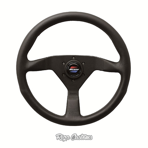 Spoon Sports 3D sticker for steering wheel horn button