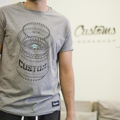 Riga Customs BBS wheel T-shirt