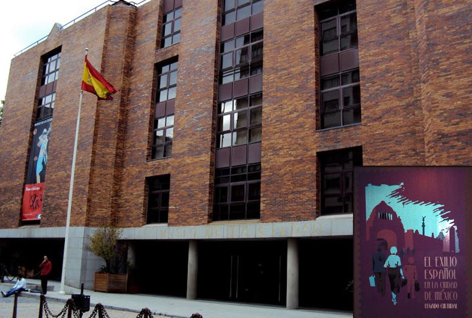 Exilio Español Madrid España