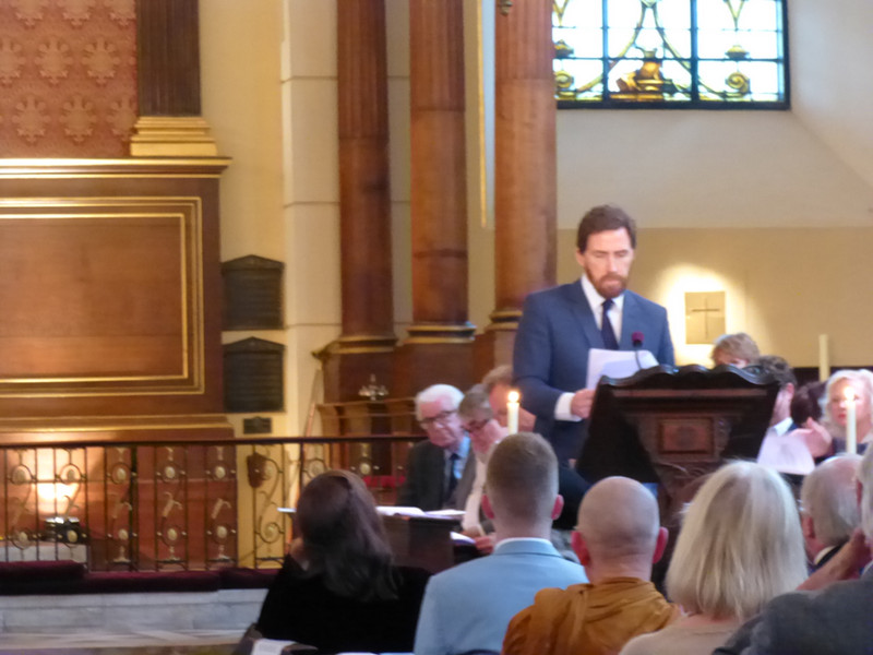 Rob Brydon reads from UP FRONT