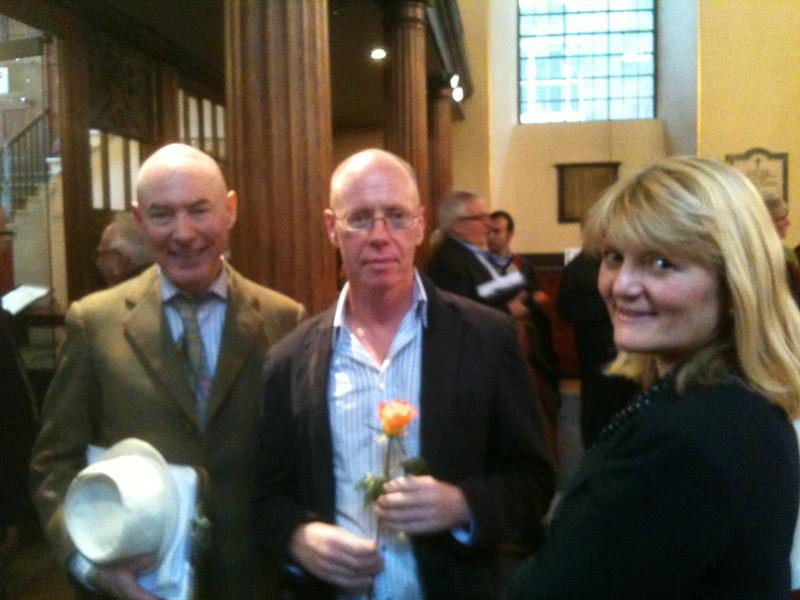 Peter Benedict, Geoffrey Cush & Sheila McNaught