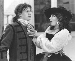 James Powell and Fenella Fielding