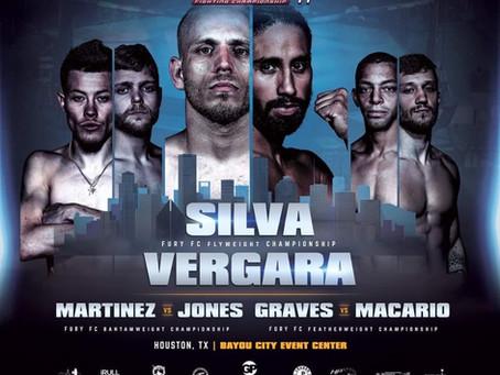 Fury Fighting Championship 44 - Silva vs Vergara