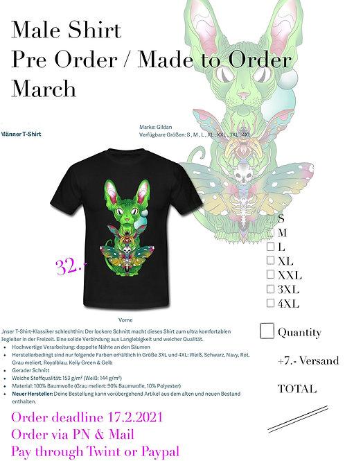 Cat Shirt Male