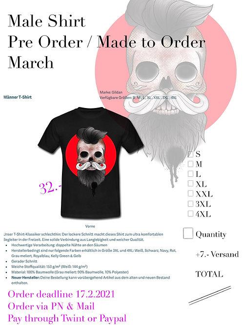 Skull Shirt Male