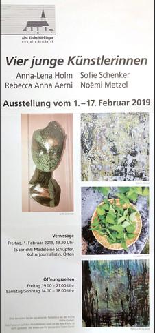Alte Kirche Härkingen 1.2.2019