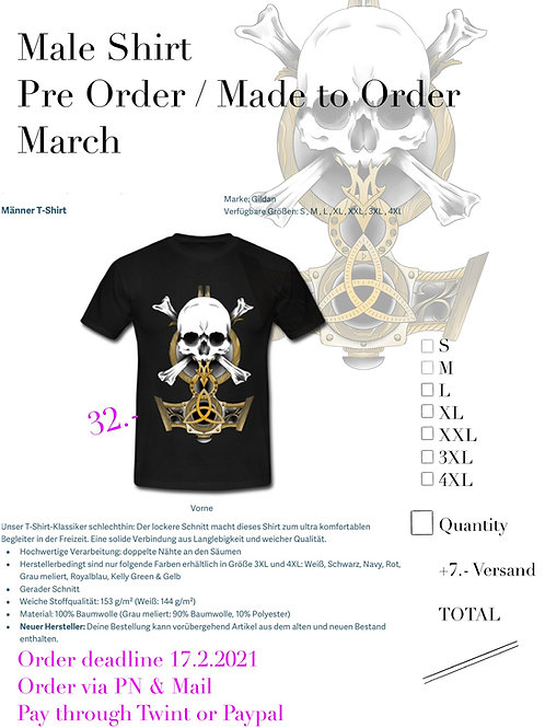 Viking Shirt Male