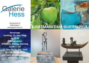 Vernissage in der Galerie Hess am 23.11.2019