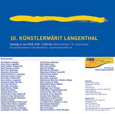 Künstlermärit Langenthal 2. Juni 2018