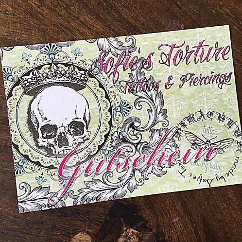 Sofie's Torture Gutschein 150