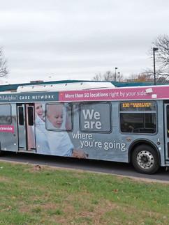 Care Network Campaign Bus Wrap