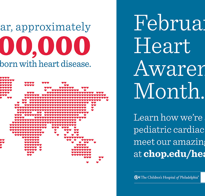 Heart Month Campaign Signage