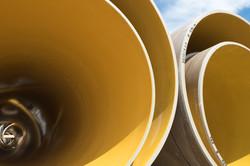 fibertech yellow pipe