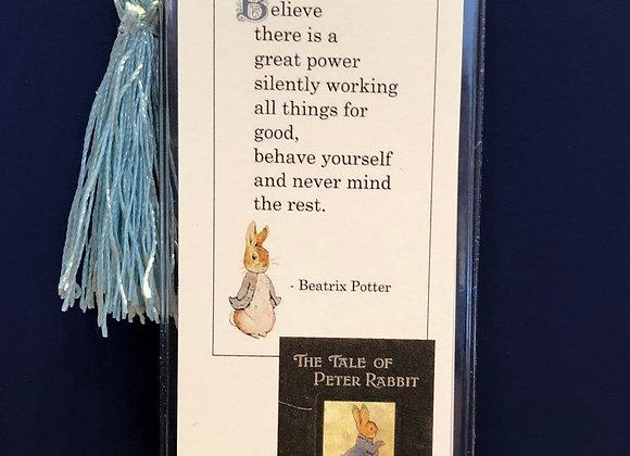Peter Rabbit Bookmark
