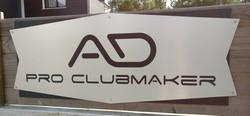 Enseigne AD Pro Clubmaker