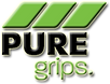 logo pure grips golf