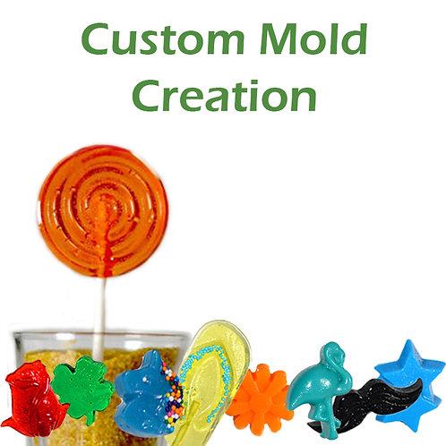 Custom Silicone Molded Shape Set up Fee