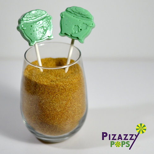 St Patrick's Day - Pot of Gold Lollipop