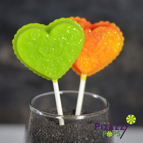 Fancy Heart XL Lollipop