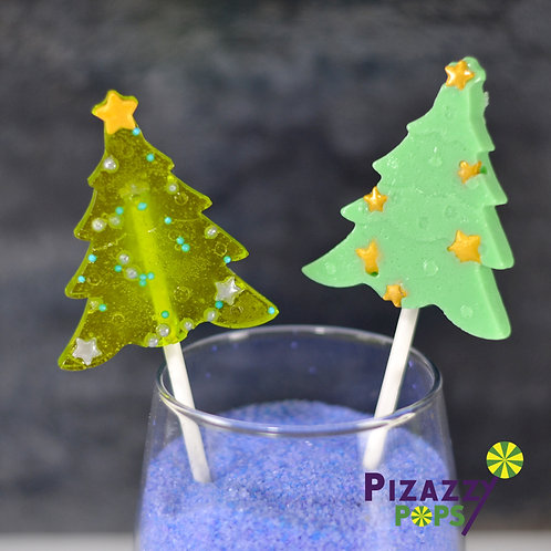 XL Christmas Trees Lollipop