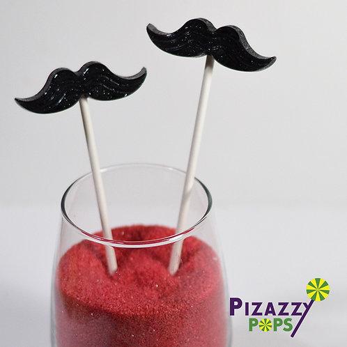 Mustache Lollipop