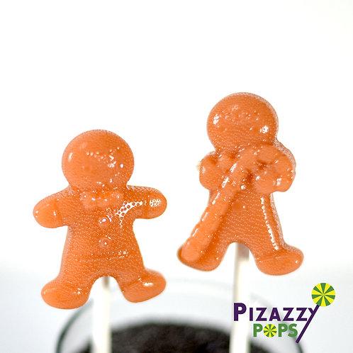 Candy Cane Boy Lollipop