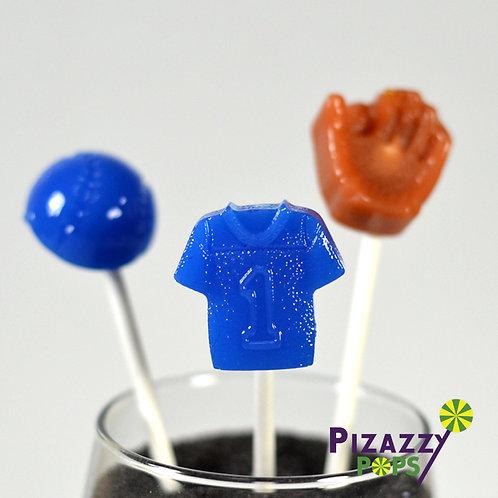 Baseball/Softball Set of Lollipops