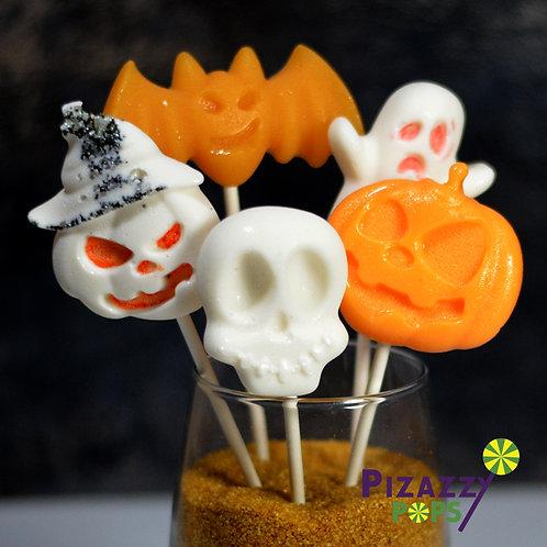 Halloween Faces Lollipop Set