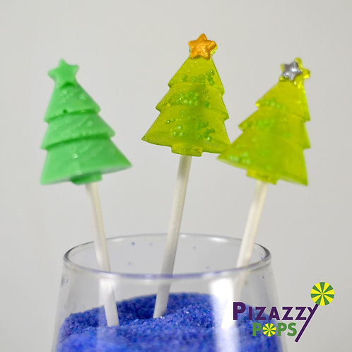 Fancy Christmas Trees  Lollipop