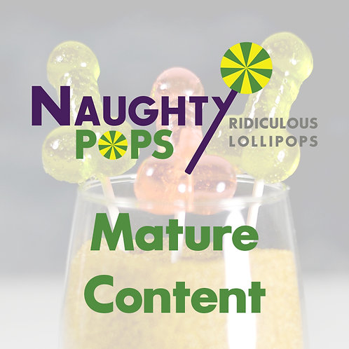 Mr Naughty Pops - Small