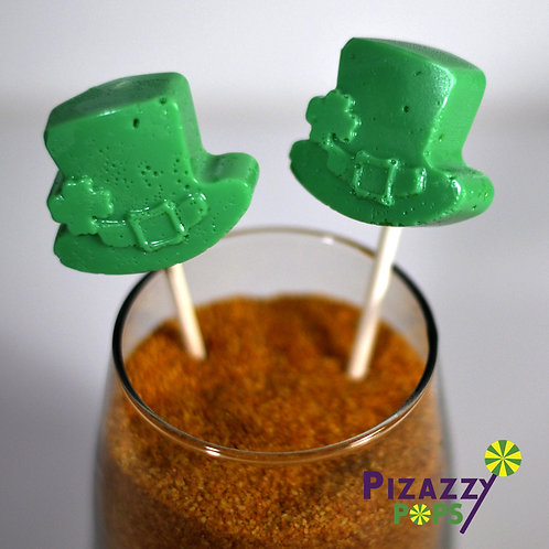 St Patrick's Day - Leprechaun Hats Lollipop