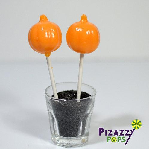 Simple Pumpkin  Lollipops