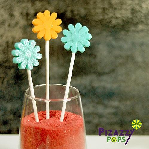 Daisy Flowers Lollipop